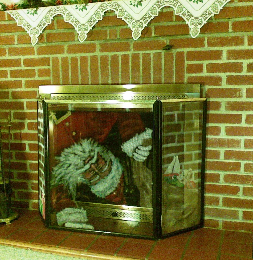 How to ?: How to paint fireplace screens